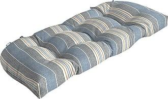 Better Homes & Gardens Hickory Stripe Outdoor Wicker Settee Cushion - TJ0X536B-D9W1