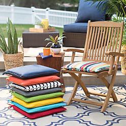 Belham Living Surfside 17 in. Sunbrella Outdoor Corded Chair Cushion Carousel Confetti Stripe - HNCS5950