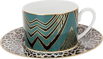 Roberto Cavalli Deco Teacup & Saucer