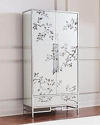 John-Richard Framura Eglomise Tall Cabinet