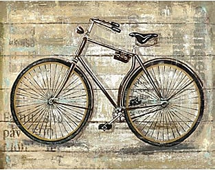 Portfolio Canvas Decor Canvas Print Wall Art - Wheels III - 22x28 by Sandy Doonan Stretched and Wrapped, Ready to Hang