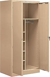Salsbury Industries Combination Storage Cabinet, 78-Inch by 24-Inch, Tan
