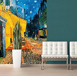 Ideal Decor Terrasse De Cafe La Nuit Wall Mural - DM420