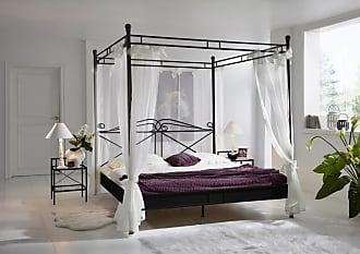 Gut Stilartmöbel Design Himmelbett 140 Cm Schwarz Venezia Auf Lager