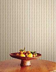 Brewster Home Fashions Emily Floral Stripe Wallpaper Green - 413-66334
