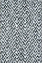 Momeni Rugs Momeni Rugs COMO0COM-3BLU7AAA Como Contemporary Geometric Indoor Outdoor Area Rug, 710 X 1010, Blue