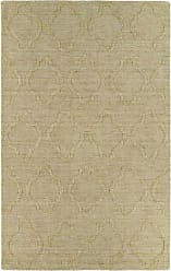 Kaleen Rugs Imprints Modern Hand-Tufted Area Rug, Yellow, 2 x 3