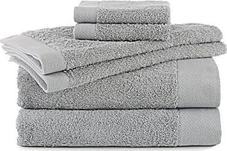 Westpoint Home FlatIron Terry Flax, 6 Piece Towel Set, Seaglass