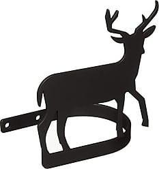Village Wrought Iron 5.25 Inch Deer Curtain Tie Backs