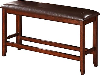 Winners Only Fallbrook 48 in. Counter Height Dining Bench - DFMT145524