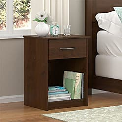 Dorel Home Products Ameriwood Home Core Nightstand, Medium Brown