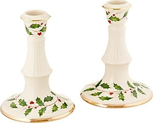 Lenox Holiday Archive Candlestick Pair