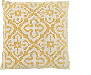 Monarch Specialties Motif Design 18 x 18 Yellow 1 Piece Pillow
