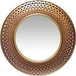 Infinity Instruments Bolly Wall Mirror - 15367GD