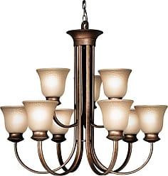 Woodbridge Lighting 12025 Dresden 9 Light 31-3/4 Wide 2 Tier