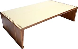 Adesso Custom Walnut Coffee Table With Lacquered Top