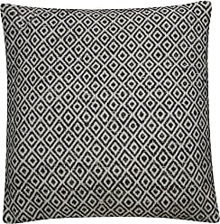 Jaipur Living Rugs Jaipur Tribal Viscose and Bamboo Decorative Pillow Gardenia / Warm Sand Down Fill - PLW102561