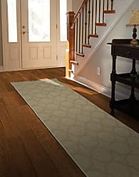 Garland Rug CL100N02409601 Sparta 2-Feet by 8-Feet, Tan