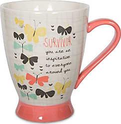 Pavilion Gift Company 74053 Survivor Ceramic Mug, 16 oz, Multicolored