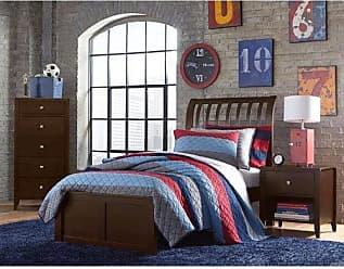 Hillsdale Furniture 32032N Pulse Rake Sleight Bed Full Chocolate