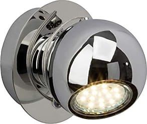 eisen//chrom G34710//77 240lm 1x 3 W Brilliant Kassandra Wandspot 3000K Metall GU10 LED