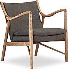 Kardiel Copenhagen 45 Mid-Century Modern Arm Chair, Gosford Twill