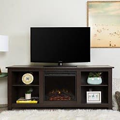 Porch & Den Roosevelt Espresso 58-inch Fireplace TV Stand Console (Espresso)