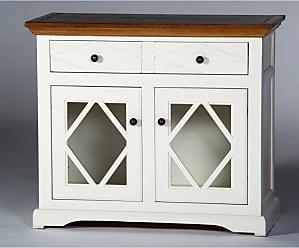 Eagle Furniture Shelter Bay 41 in. Credenza Concord Cherry - SB321741AGCC