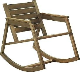 Mão & Formão Cadeira de Balanço Edith NogueiraNogueira