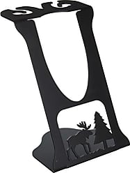 Village Wrought Iron 9 Inch Moose Wine Holder