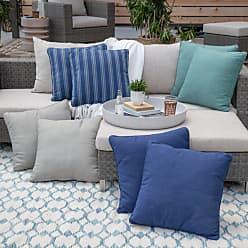 Belham Living Catalina 20 x 20 in. Outdoor Toss Pillows - Set of 2 Gray - CATALINA45