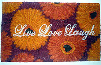 Geo Crafts Vinyl Back Live Love Laugh Doormat