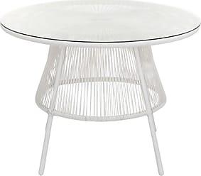 Tables De Jardin en Blanc - 31 produits - Soldes : jusqu\'\'à −49 ...