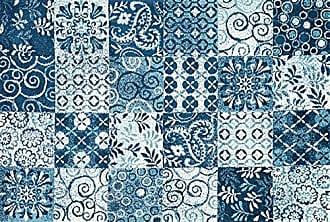 Loloi Rugs AVANAV-03BB0093D0 Area Rug, 9-3 x 13, Blue