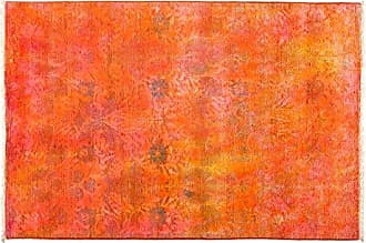 Solo Rugs Vibrance Hand Knotted Area Rug, 4 1 x 6 1, Orange