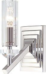 Metropolitan N2651-613 Wall Sconce in Polished Nickel finish with Eidolon Krystal Glass Shade