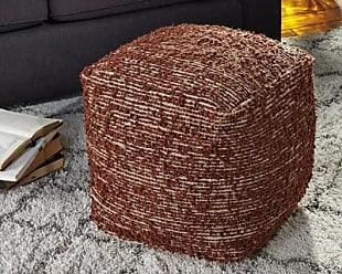 Ashley Furniture Darita Pouf, Brown