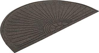 Guardian Floor Protection EcoGuard Diamond Fan Indoor Door Mat, Size: 2 x 3 ft. - EGDFAN020304