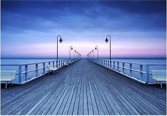 Ideal Decor Pier at the Seaside Wall Mural - DM969