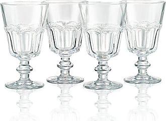 Artland 30000A Pearl Ridge Wine Glass (Set of 4), Glass