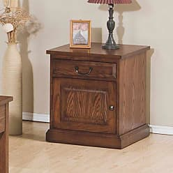 Winners Only Zahara 1 Drawer and Door End Table - AZ100E