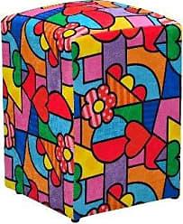 Nay Multicoisas Puff Decorativo Suede Romero Brito