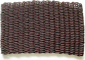 Geo Crafts PP Mariner Doormat, 18 by 30-Inch, Burgundy