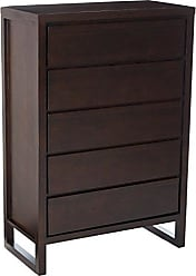 Progressive Furniture P109-14 Athena Chest, 36x18x53, Dark Chocolate