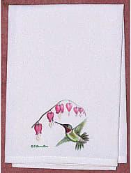 Betsy Drake GT030 Hummingbird Guest Towel