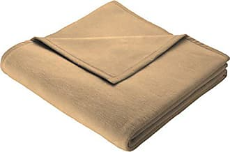 Biederlack uni couverture couverture couverture plaid 150 x 200 cm duo Cotton Marone
