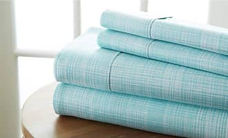 Noble Linens Thatch Sheet Set by Noble Linens Forest, Size: Queen - NL-4PC-THAT-QUEE-FO