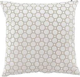 Deco 79 85047 Modern Square Cotton Pillow, 4 W x 18 H, White