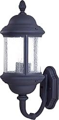 Minka Lavery Lighting 9018-66 3 Light Wall Mount in Black finish
