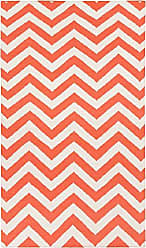 Surya Frontier FT-456 Hand Woven 100-Percent Wool Geometric Accent Rug, 3-Feet 6-Inch by 5-Feet 6-Inch
